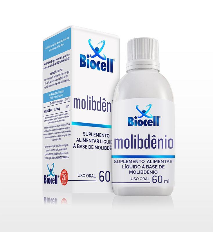 Molibdênio - Suplemento Alimentar Líquido Sublingual 60 ml