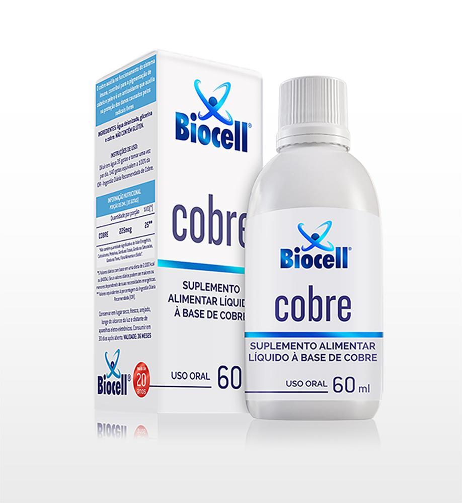 Cobre - Suplemento Alimentar Líquido Sublingual 60 ml