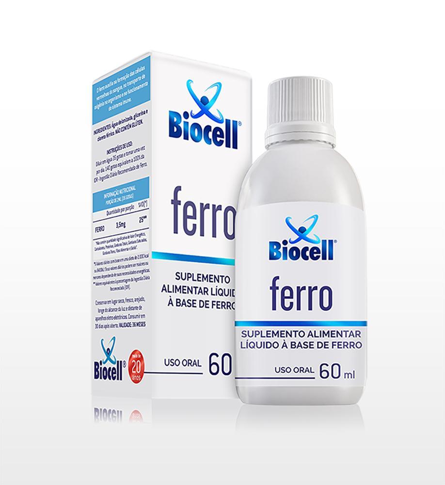Ferro - Suplemento Alimentar Líquido Sublingual 60 ml