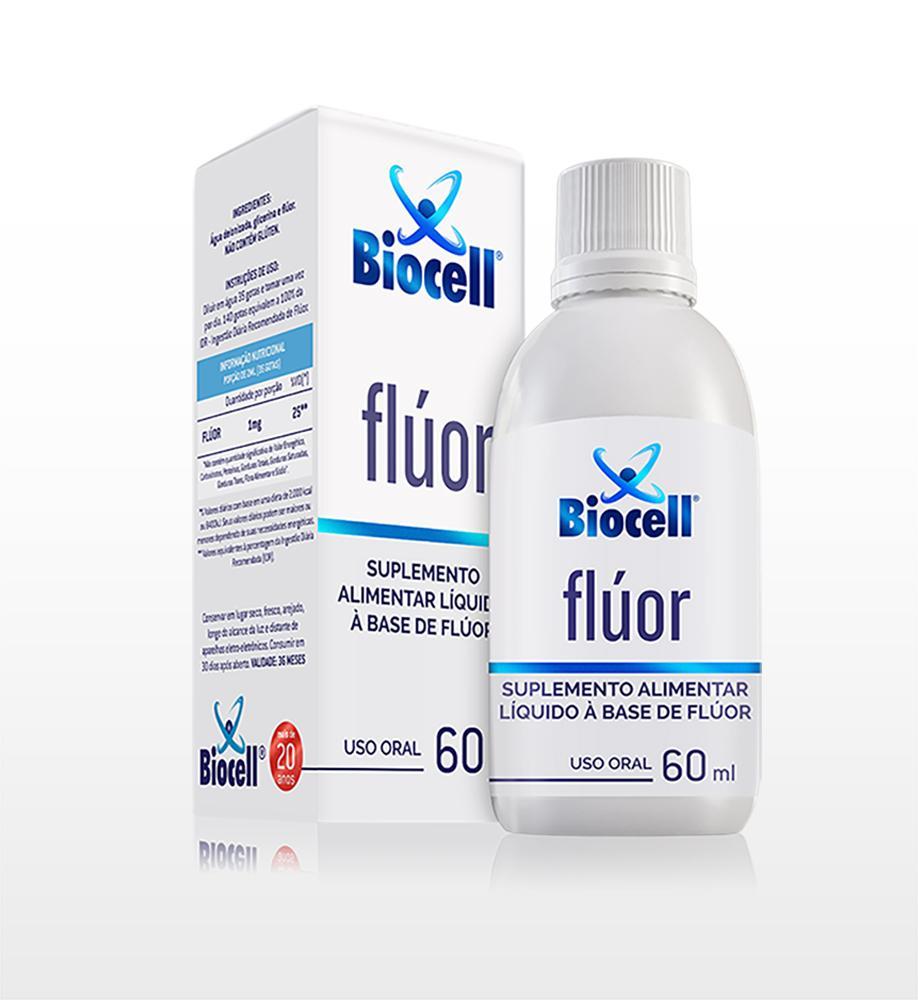 Flúor - Suplemento Alimentar Líquido