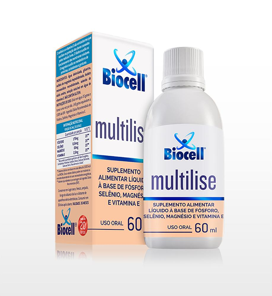 Multilise - Suplemento Alimentar Líquido Sublingual 60 ml