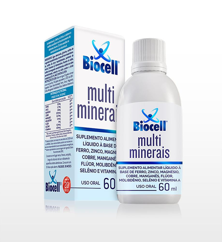 Multiminerais - Suplemento Alimentar Líquido Sublingual 60 ml