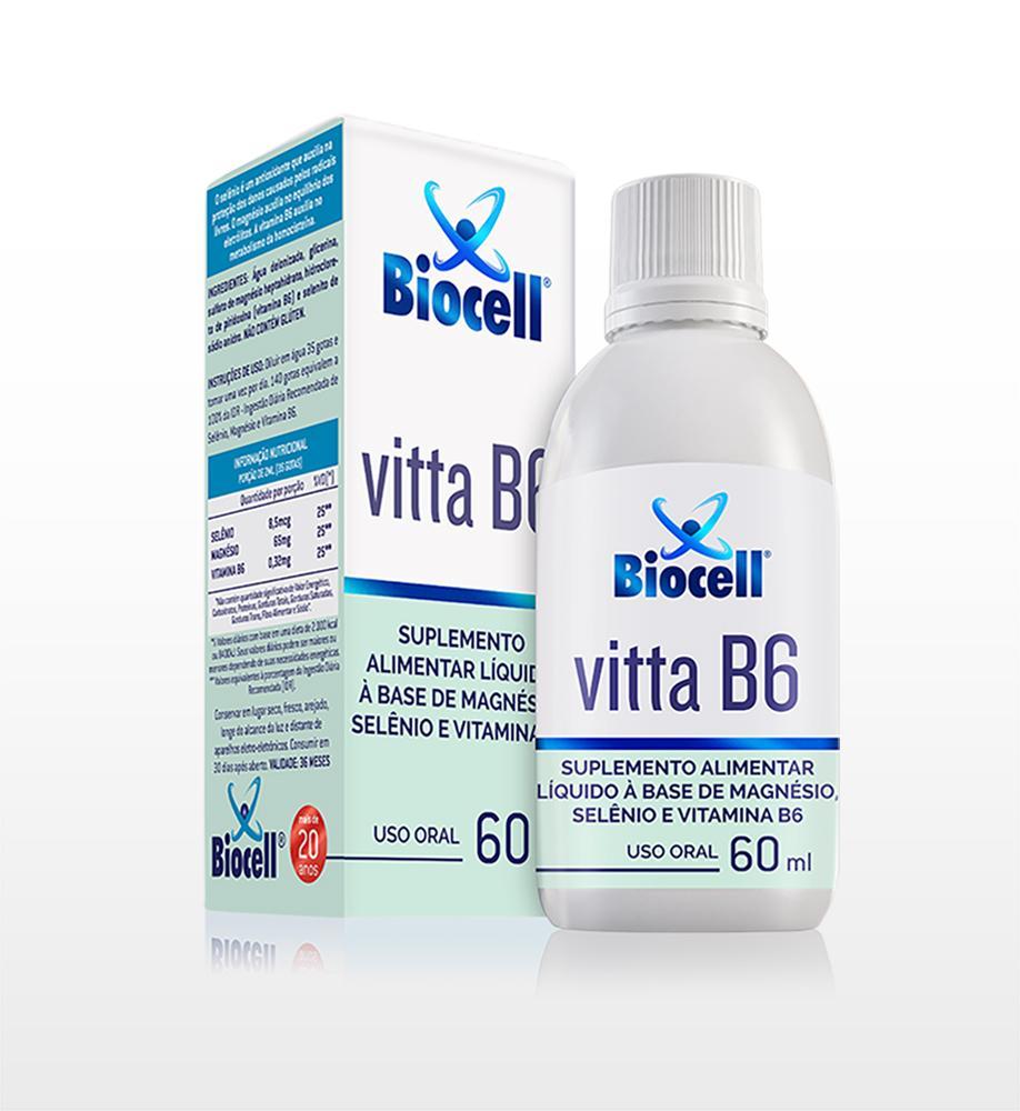 Vitta B6 - Suplemento Alimentar Líquido Sublingual 60 ml