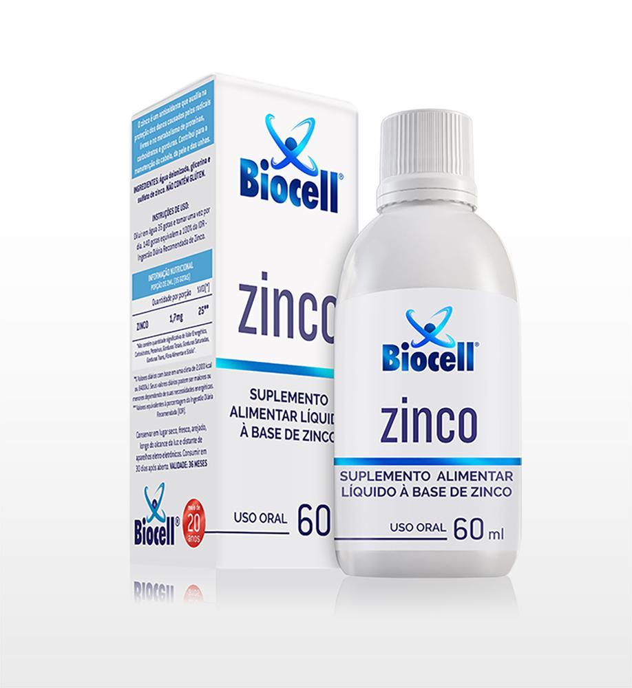 Zinco - Suplemento Alimentar Líquido Sublingual 60 ml