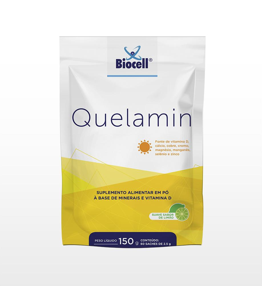 Quelamin - Suplemento Alimentar em Pó 60 sachês de 2,5 g