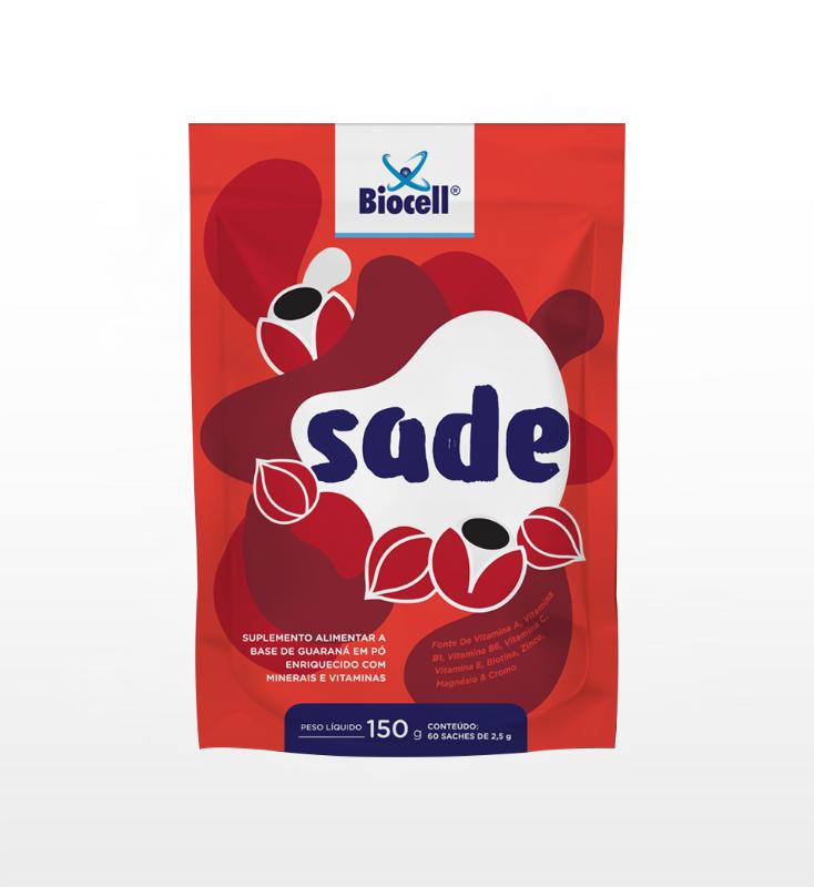 Sade - Suplemento Alimentar em Pó 60 sachês de 2,5 g